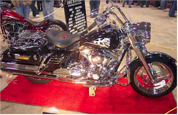 Owens Options bike on show