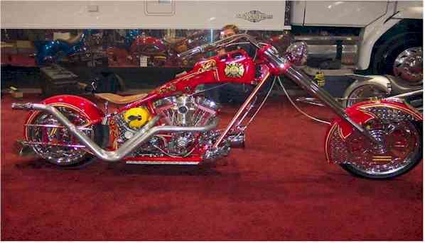 Fireman's bike by OCC